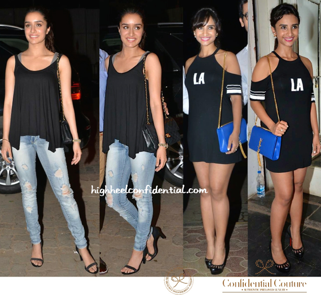 Shraddha Kapoor And Patralekhaa At Mukesh Chabbria's Birthday Bash