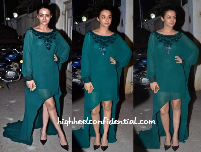 Surveen Chawla In Karleo At 'Tanu Weds Manu Returns' Success Bash