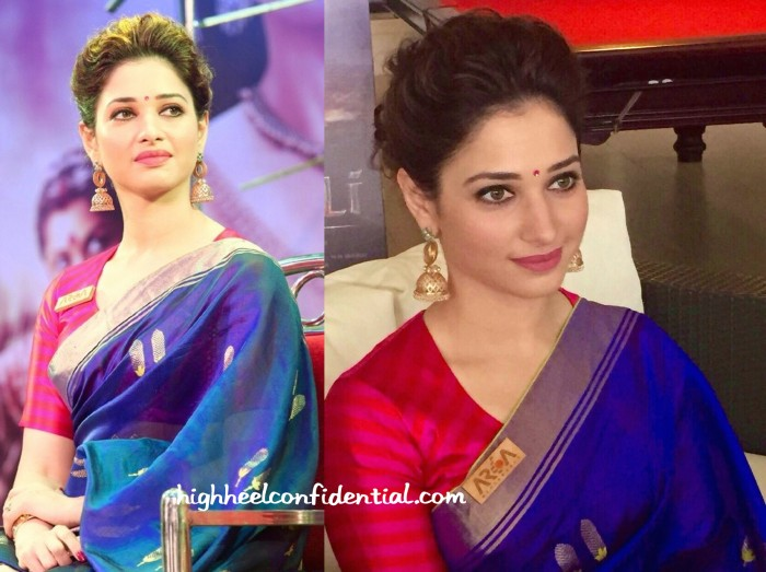 Tamannaah Bhatia In Raw Mango And Amrapali At Baahubali Malayalam Audio Launch-2