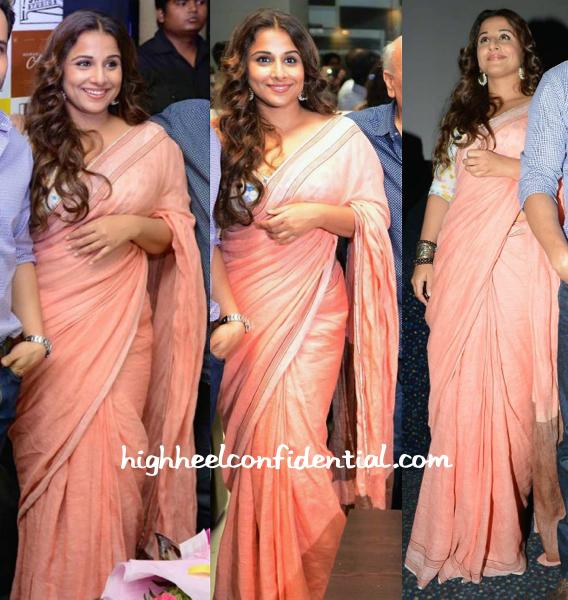 Vidya Balan In Anavila At Hamari Adhuri Kahani Promotions-1