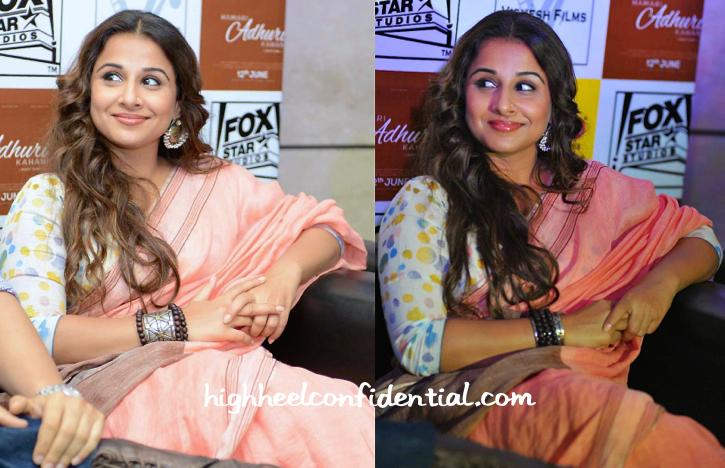 Vidya Balan In Anavila At Hamari Adhuri Kahani Promotions-2