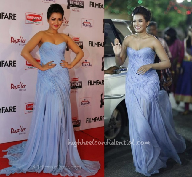 catherine-tresa-ehsan-chamoun-filmfare-awards-south-2015