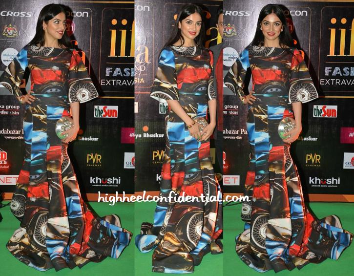 divya khosla kumar-gauri and nainika-iifa fashion extravaganza 2015