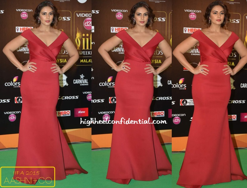 huma-qureshi-gauri-nainika-iifa-awards-2015