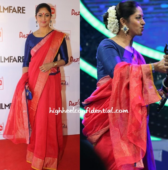nadiya-filmfare-awards-south-2015