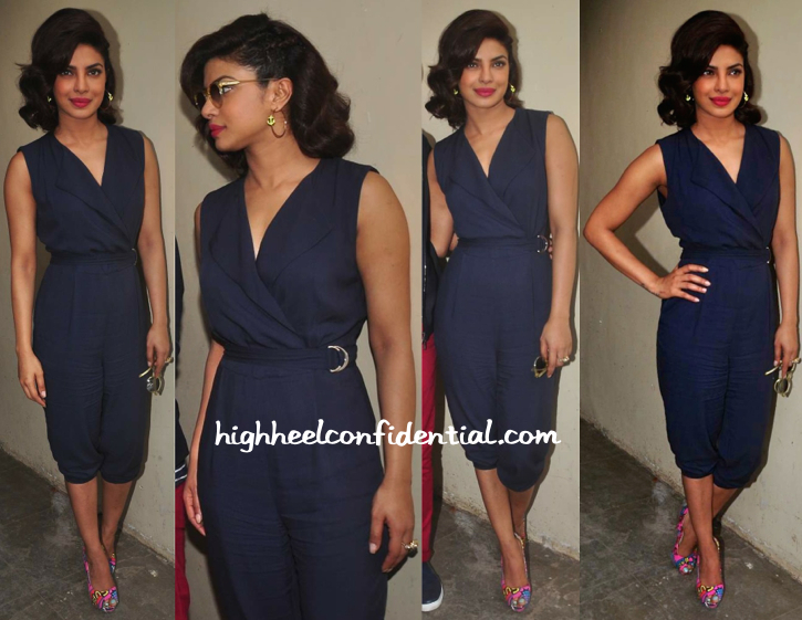 priyanka chopra-dil dhadekne do promotions-hm jumpsuit-1