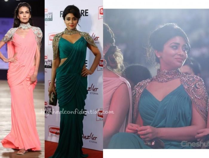 shriya-saran-monisha-jaising-filmfare-awards-south-2015