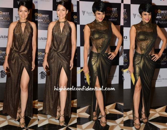 waluscha-d-souza-mandira-bedi-gq-best-dressed-men-2015
