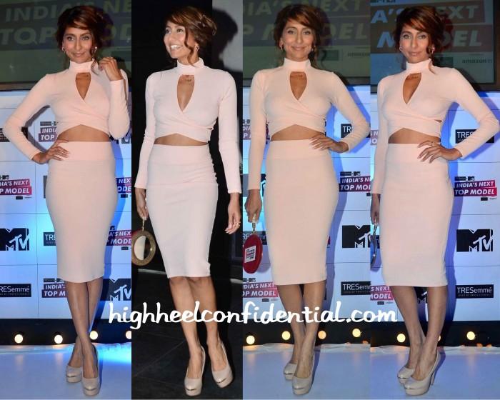 Anusha Dandekar At India's Next Top Model Launch