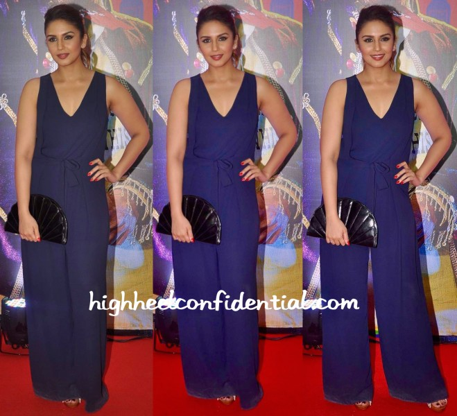 Huma Qureshi In Zara At Guddu Rangeela Premiere-1