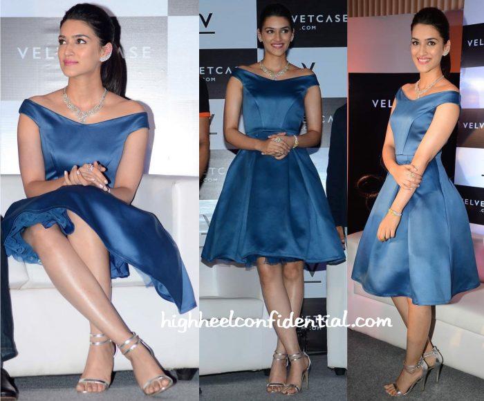 Kriti Sanon In Manika Nanda At VelvetCase Launch-1