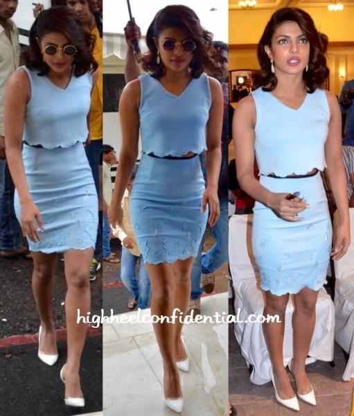 Priyanka Chopra Wears Madison To Gangaajal 2 Press Meet-1