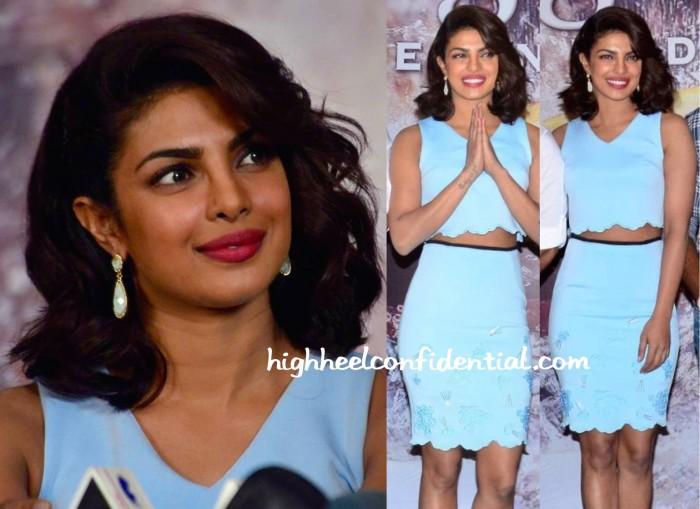 Priyanka Chopra Wears Madison To Gangaajal 2 Press Meet-2