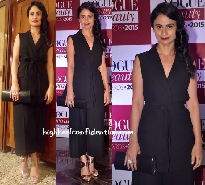 Rasika Dugal In Zara At Vogue Beauty Awards 2015