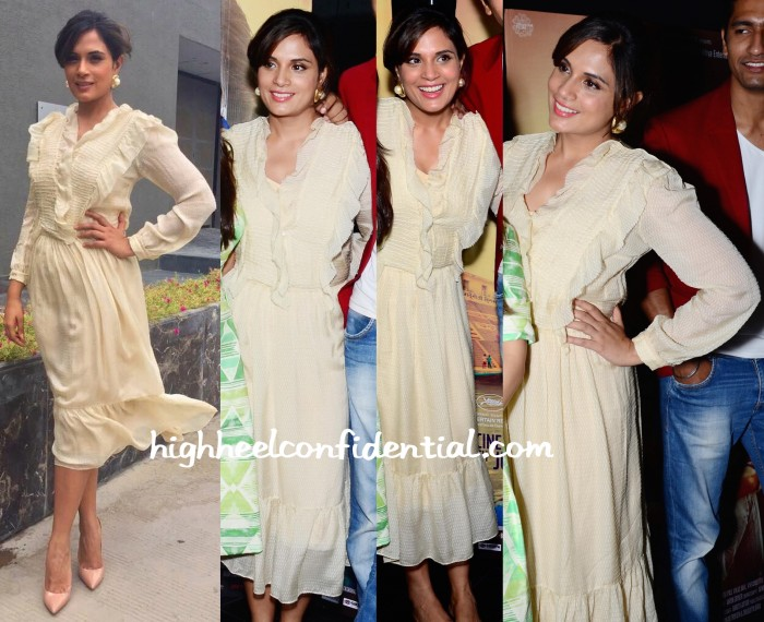 Richa Chadda In Shift By Nimish Shah At Masaan Promotions-1
