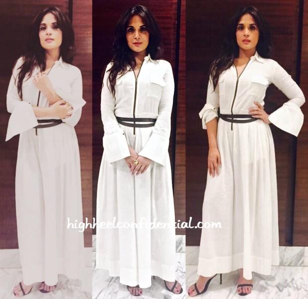 Richa Chadha Promotes Masaan Wearing Payal Khandwala And Eka-2