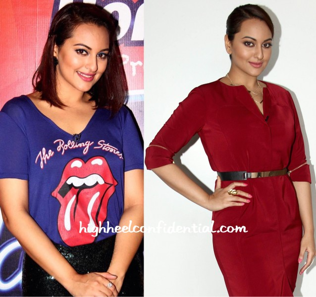 Sonakshi Sinha On Indian Idol Junior Sets-1