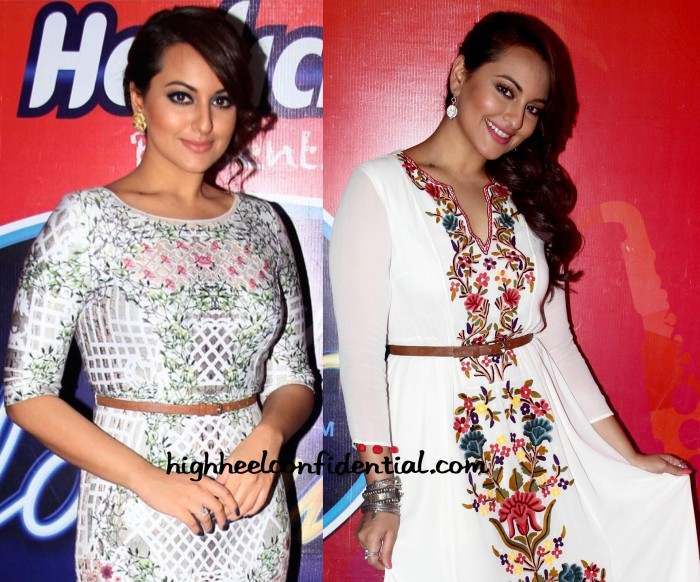 Sonakshi Sinha On Indian Idol Junior Sets-2