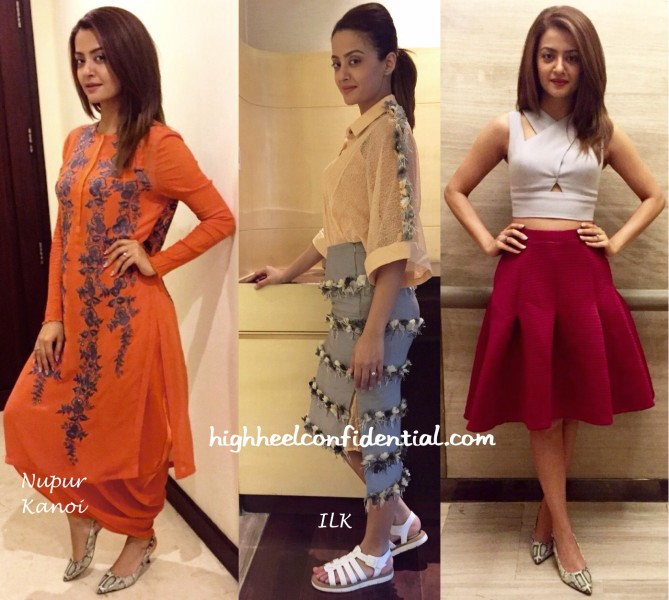 Surveen Chawla at Hero Naam Yaad Rakhi Promotions-1
