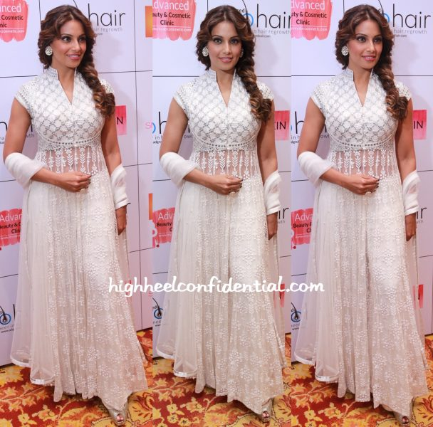 bipasha basu in anita dongre at abc clinic launch in chennai-1