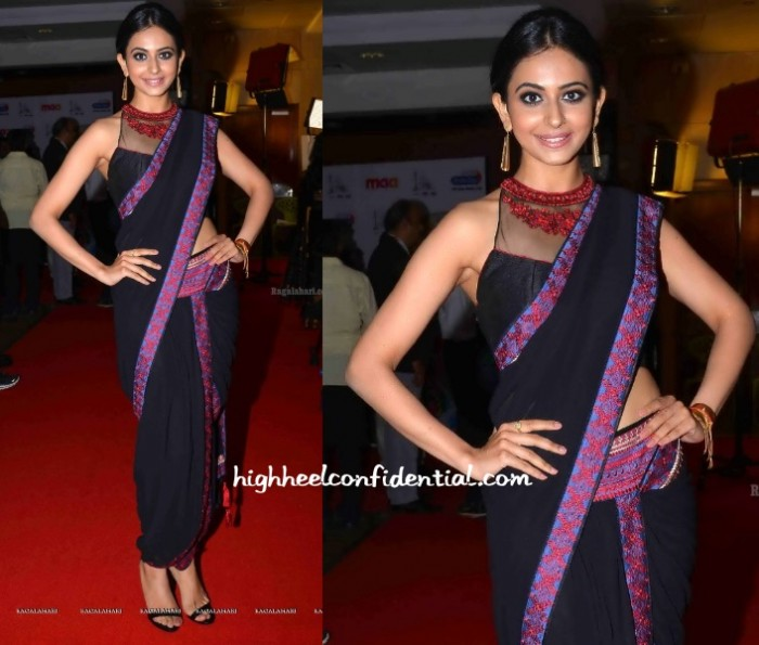 rakul-preet-singh-tarun-tahiliani-cinemaa-awards-2015