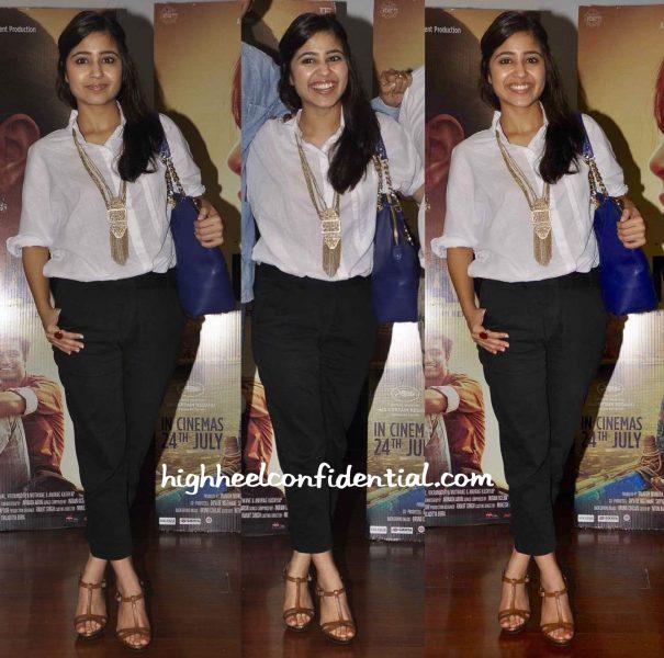 shweta tripathi at masaan screening at a mumbai college