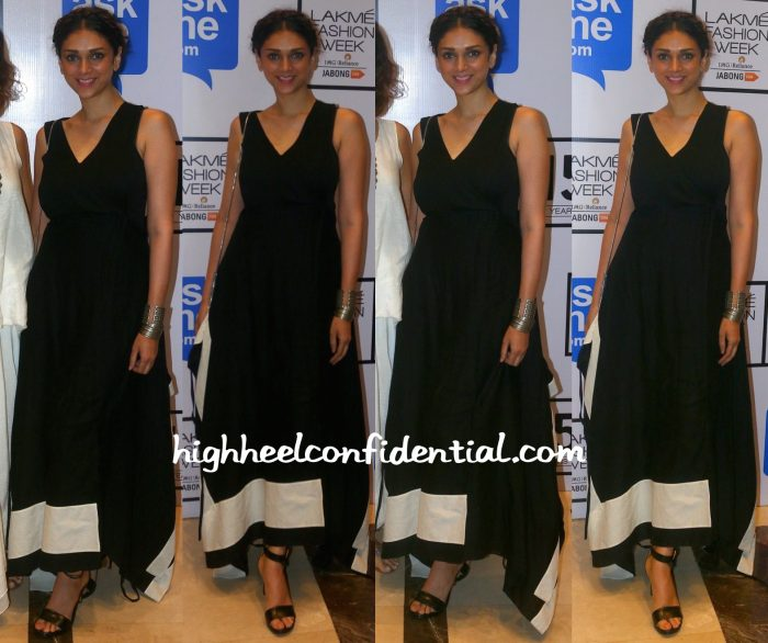 Aditi Rao Hydari In Myoho And Amrapali At Lakme Fashion Week Winter:Festive 2015