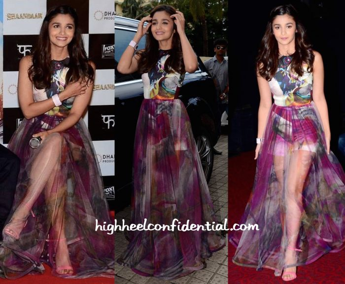 Alia Bhatt Wears Gauri And Nainika To Shaandaar Trailer Launch-1