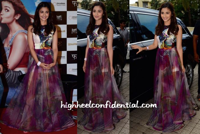 Alia Bhatt Wears Gauri And Nainika To Shaandaar Trailer Launch-2