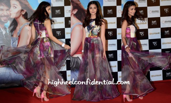 Alia Bhatt Wears Gauri And Nainika To Shaandaar Trailer Launch-3