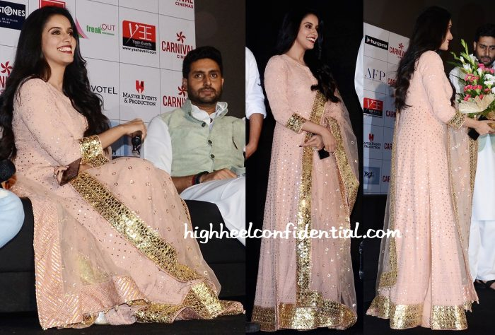 Asin In Rimple And Harpreet Narula At All Is Well Promotions:Press Meet-1