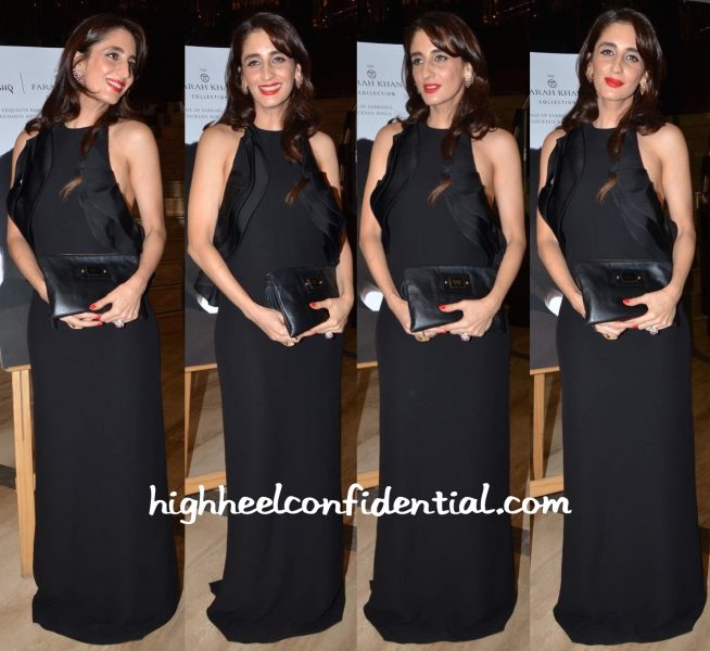 Farah Khan Ali In Gauri And Nainika At The Unveiling Of Her Collection For Tanishq