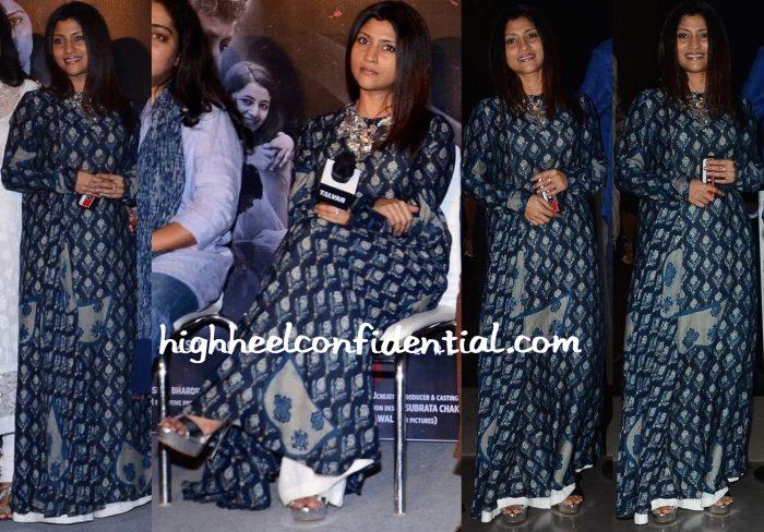 Konkona Sen Sharma In Divya Anand At Talvar Launch-2