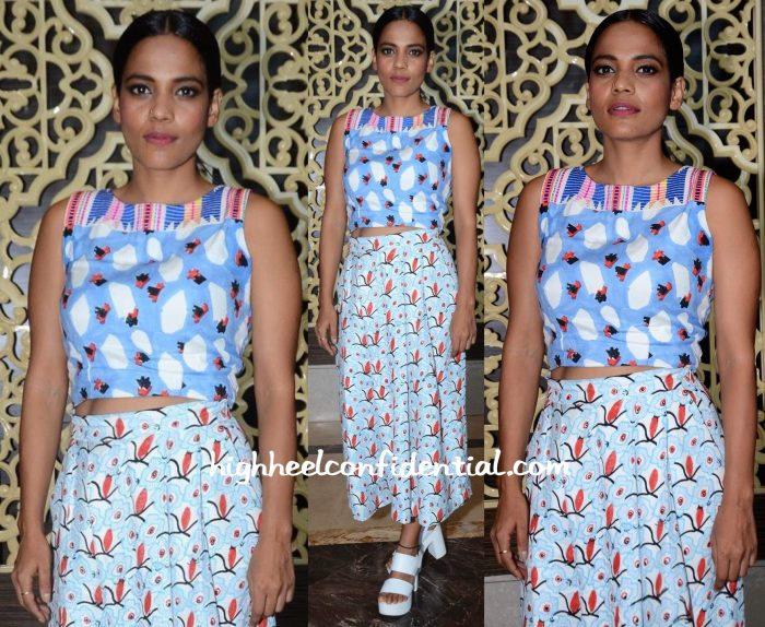 Priyanka Bose In Jodi At Lakme Fashion Week Winter:Festive 2015