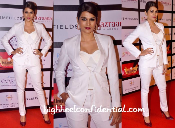 Shraddha Das In Diva'ni At Retail Jeweller India Awards 2015