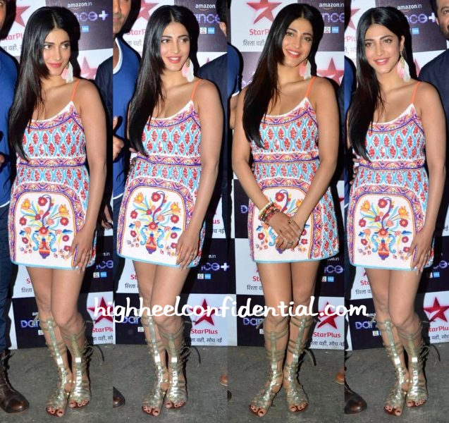 Shruti Haasan Wears Pia Pauro To Dance Plus Sets-1