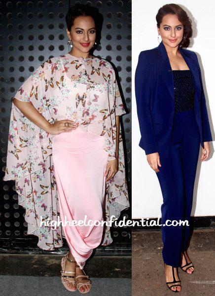 Sonakshi Sinha Wears Sonal Kalra Ahuja, Koesch And Vinita Michael To Indian Idol Junior Sets-1