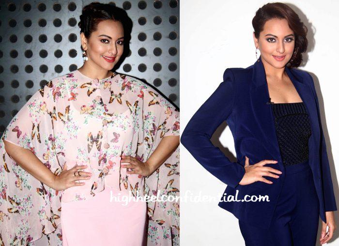 Sonakshi Sinha Wears Sonal Kalra Ahuja, Koesch And Vinita Michael To Indian Idol Junior Sets-2