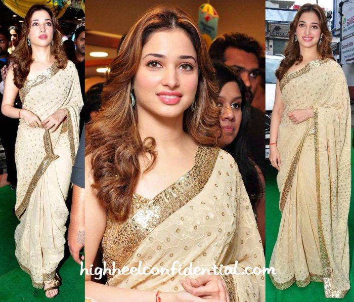 Tamannaah Bhatia In Rimple And Harpreet Narula At A Store Launch In Hyderabad-1