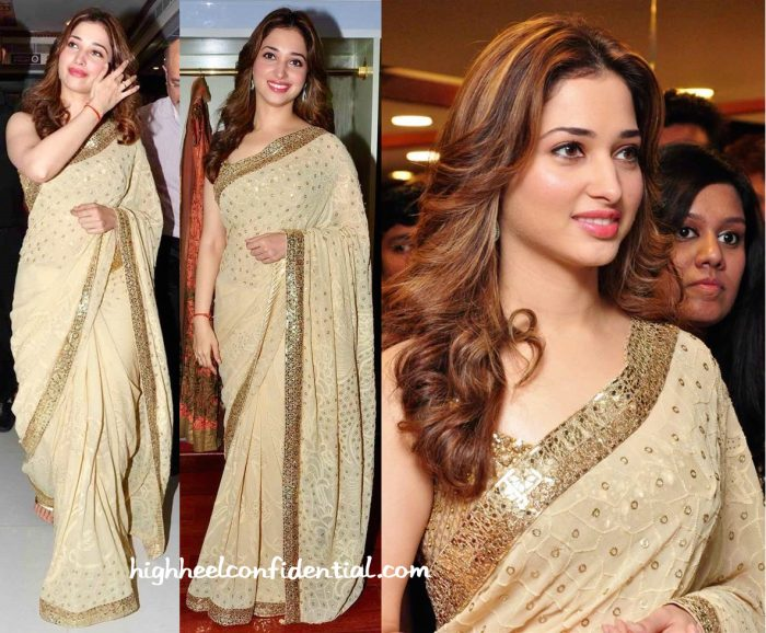 Tamannaah Bhatia In Rimple And Harpreet Narula At A Store Launch In Hyderabad-2