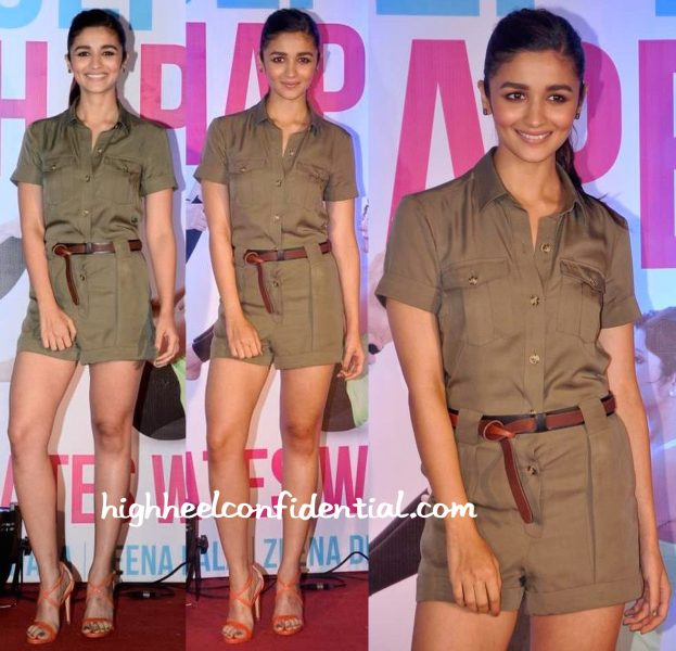 alia bhatt in karen millen at Yasmin Karachiwala Book launch-1