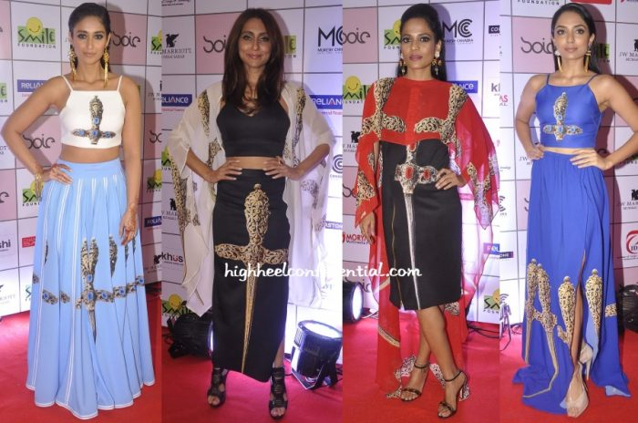 ileana-anusha-priyanka-smile-foundation-show