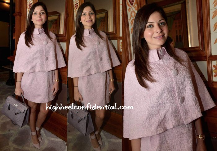 kanika kapoor at india couture week 2015