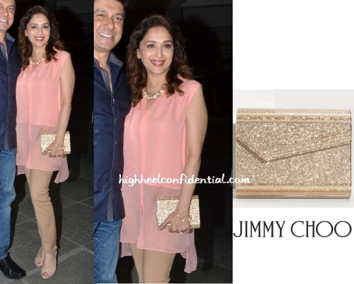 madhuri-dixit-choo-manish-paul-birthday-bash