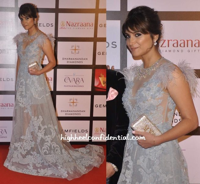 michelle-poonawalla-falguni-shane-peacock-retail-jeweller-awards-2015