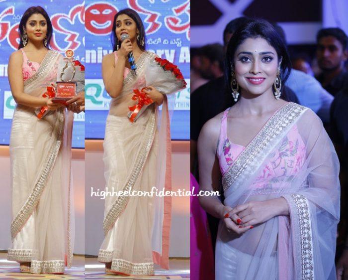 shriya-saran-anushree-reddy-santosham-awards-2015