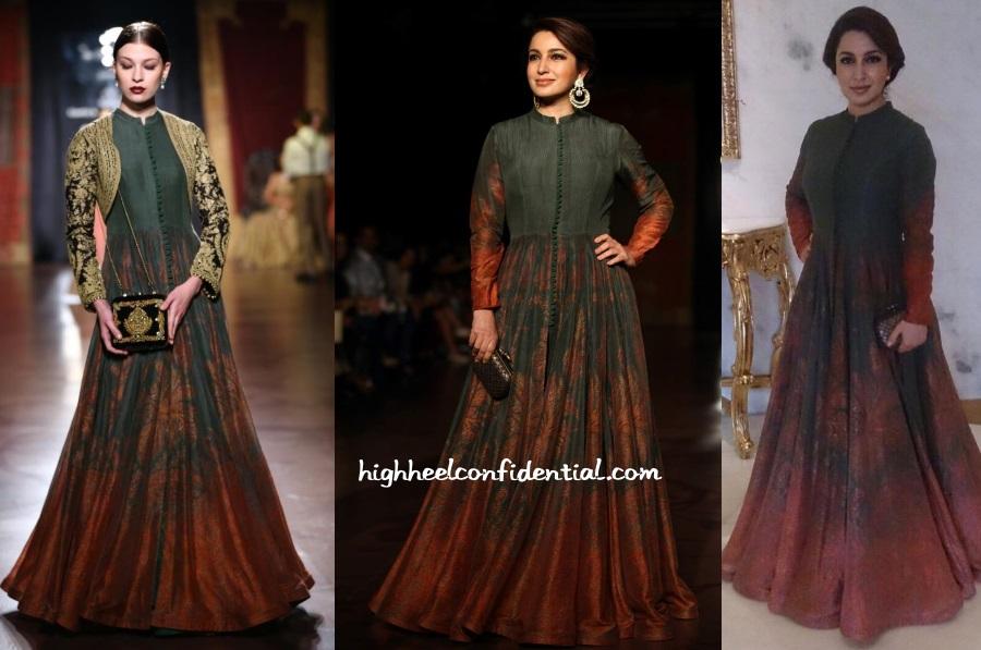 Shruti Haasan Says She Is A Romantic Besides A Tough: Tisca-chopra-rimple-harpreet-couture-week-2015
