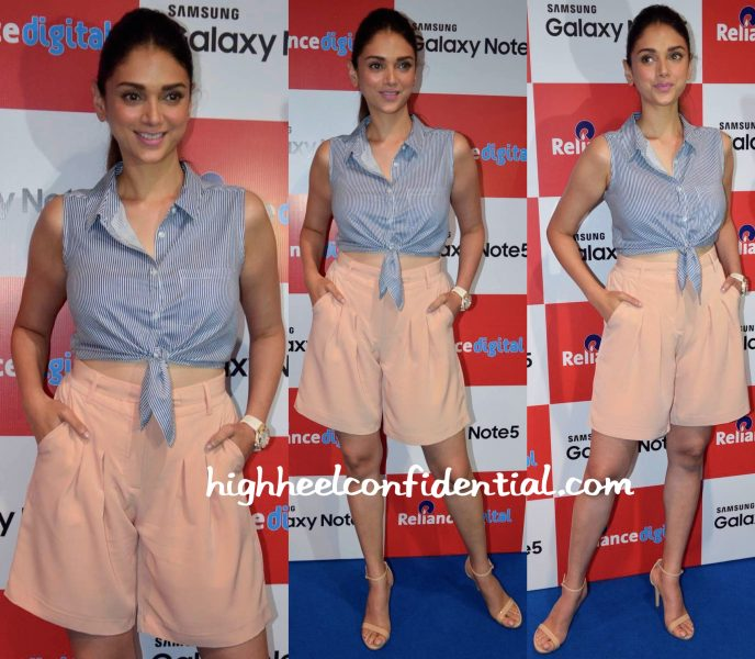 Aditi Rao Hydari At Samsung Galaxy Note Event-1