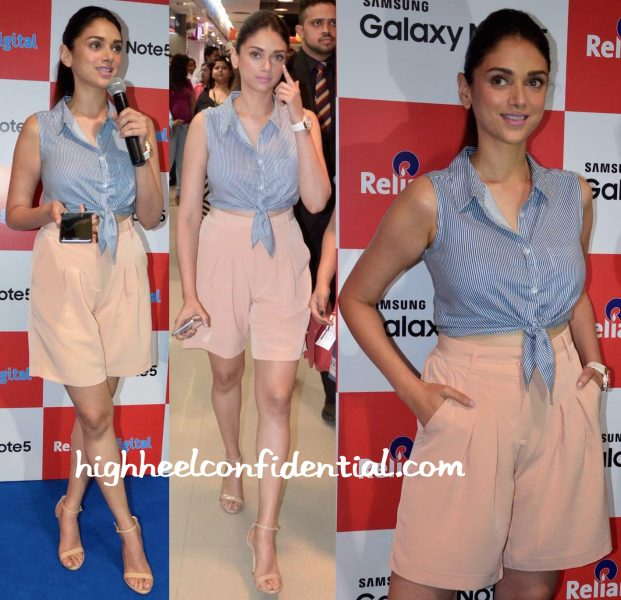 Aditi Rao Hydari At Samsung Galaxy Note Event-2