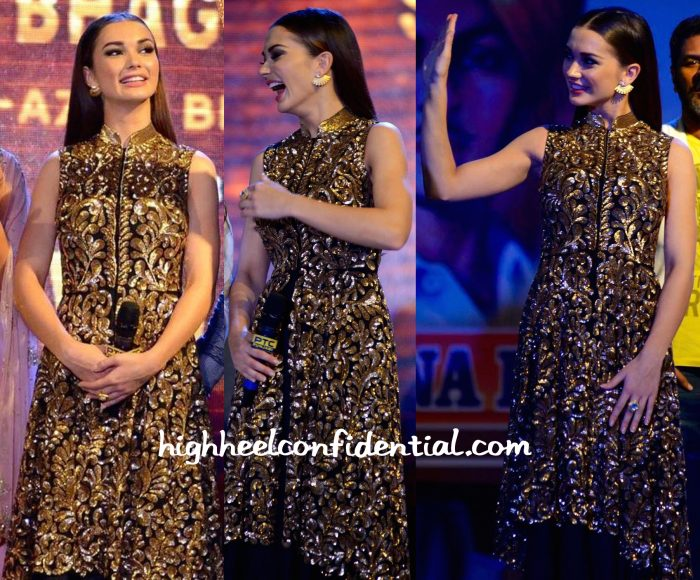 Amy Jackson At Singh Is Bliing Promotions-2